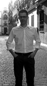 Daniel Dimeco en una calle de Madrid