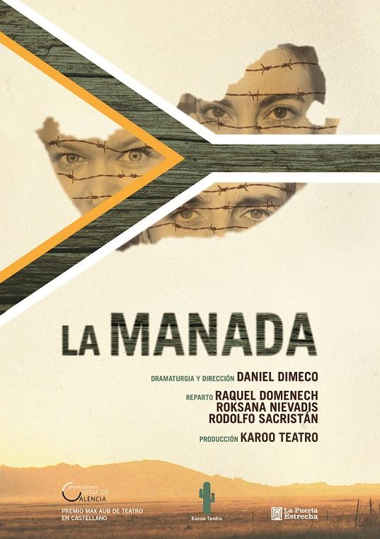 cartel LA MANADA 1